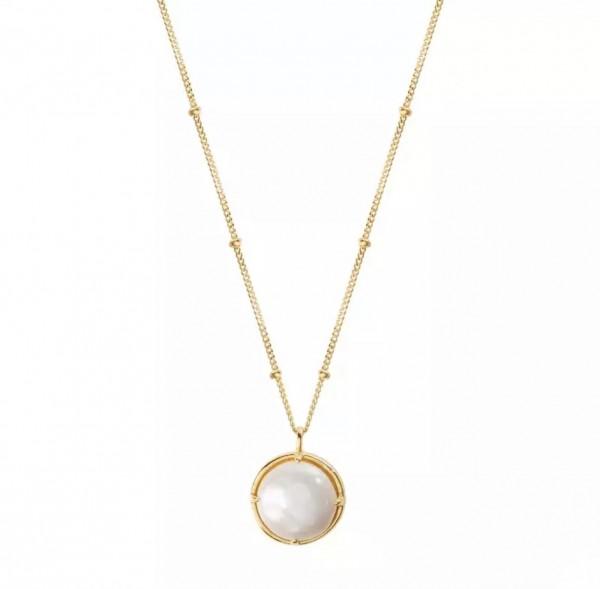 Lulu Pearl Necklace