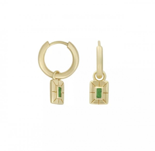 Lilou Ohrringe Green