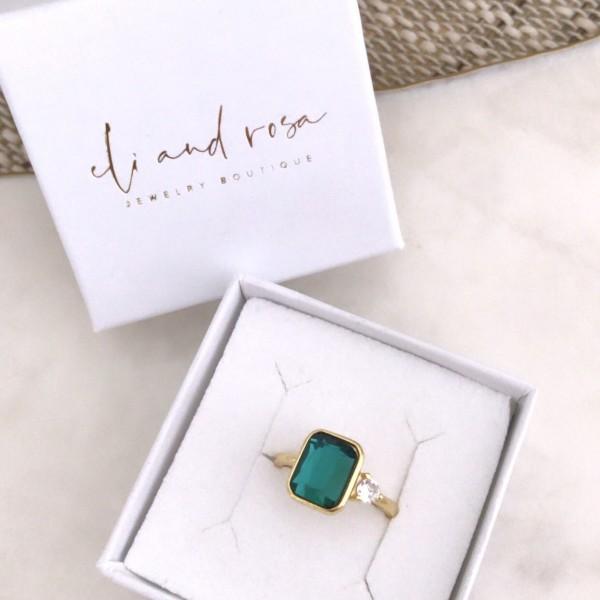 Letizia Smaragd Ring