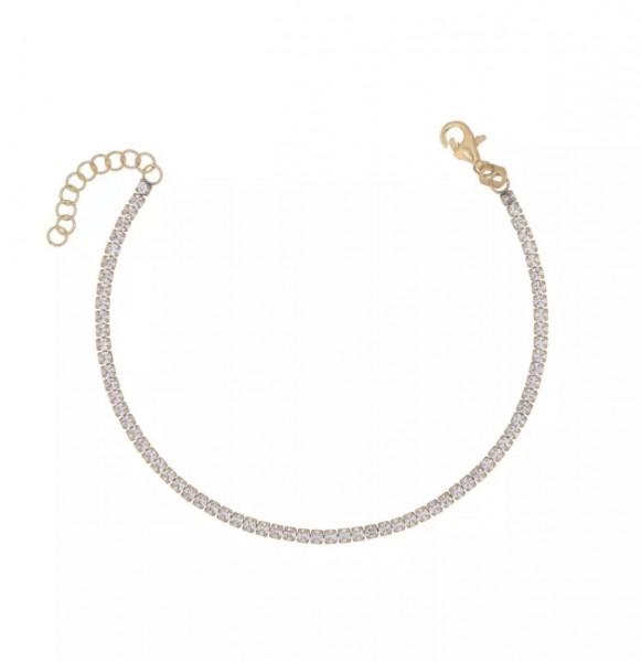 Tiny Tennis Bracelet