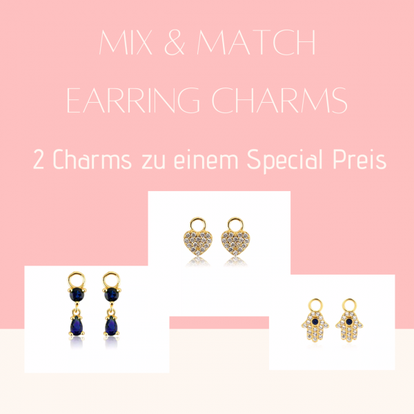 Mix and Match Ohrring-Charms